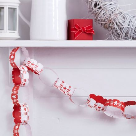 Christmas Jumper Paper Chains